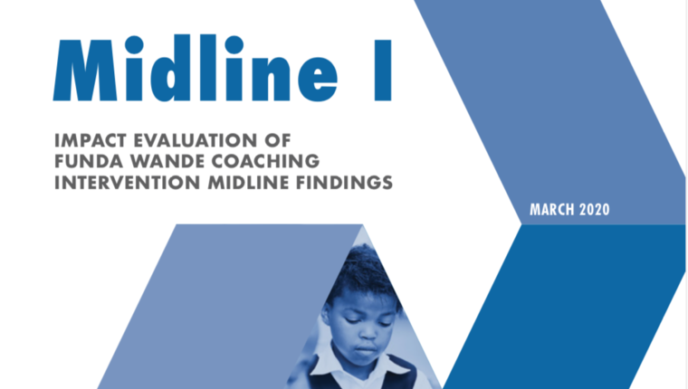 Impact Evaluation of Funda Wande Coaching Intervention Midline Findings